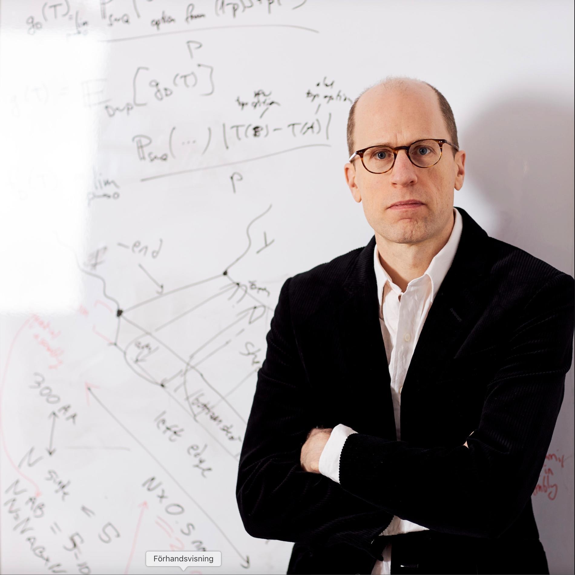 Nick Boström, professor i filosofi vid Oxforduniversitetet.
