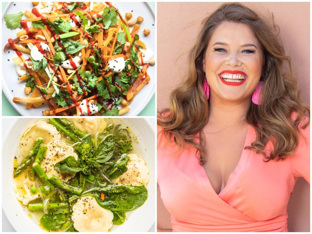 Jessica Frej bjuder på vegetariska recept.