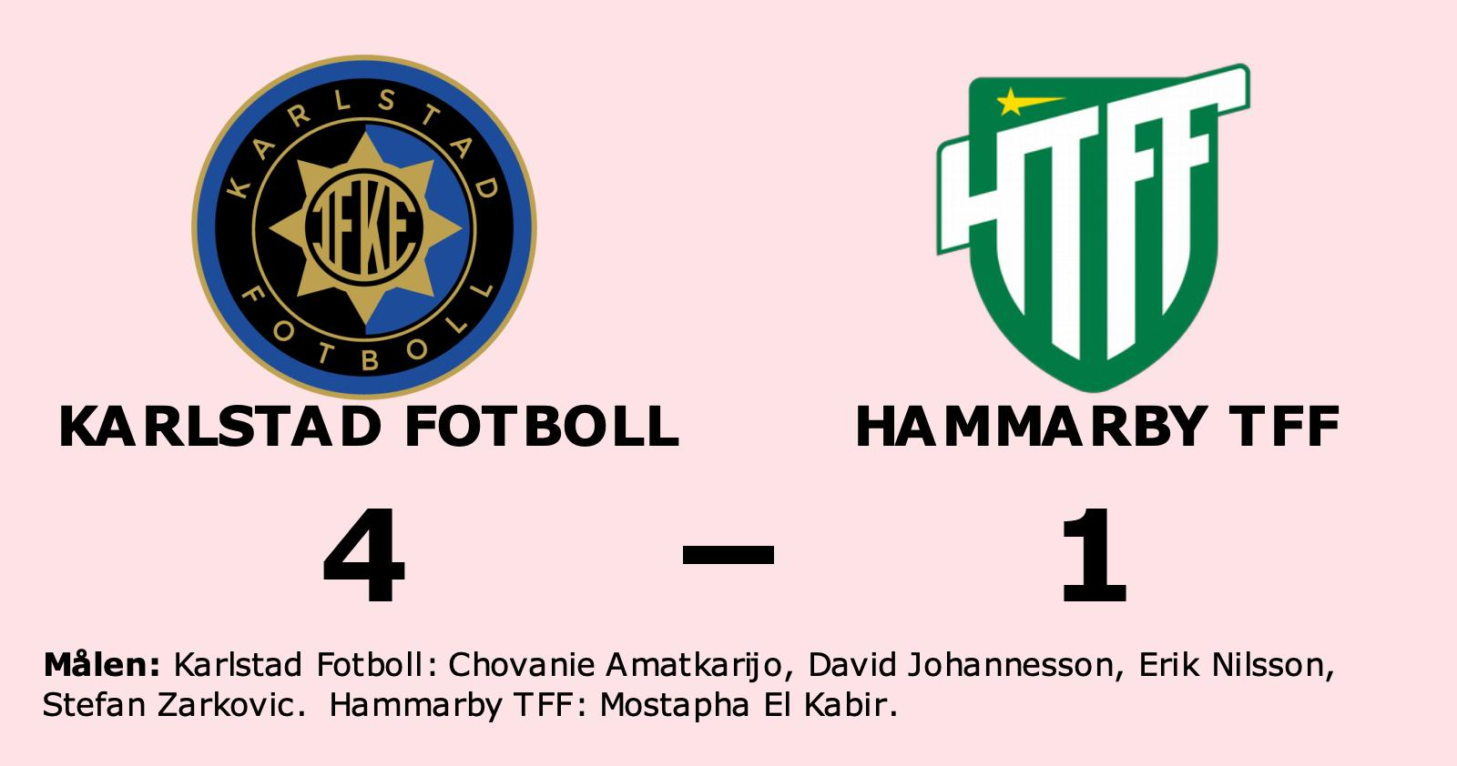Mostapha El Kabir målskytt när Hammarby TFF föll