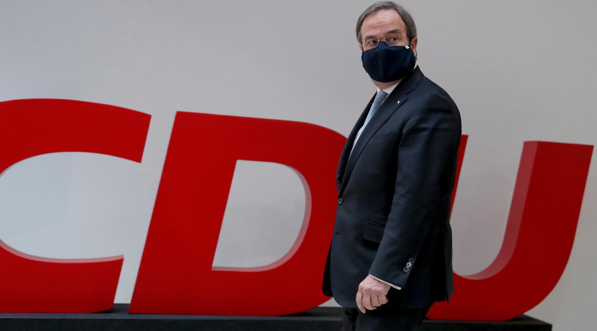 Kristdemokratiska CDU:s kandidat Armin Laschet.