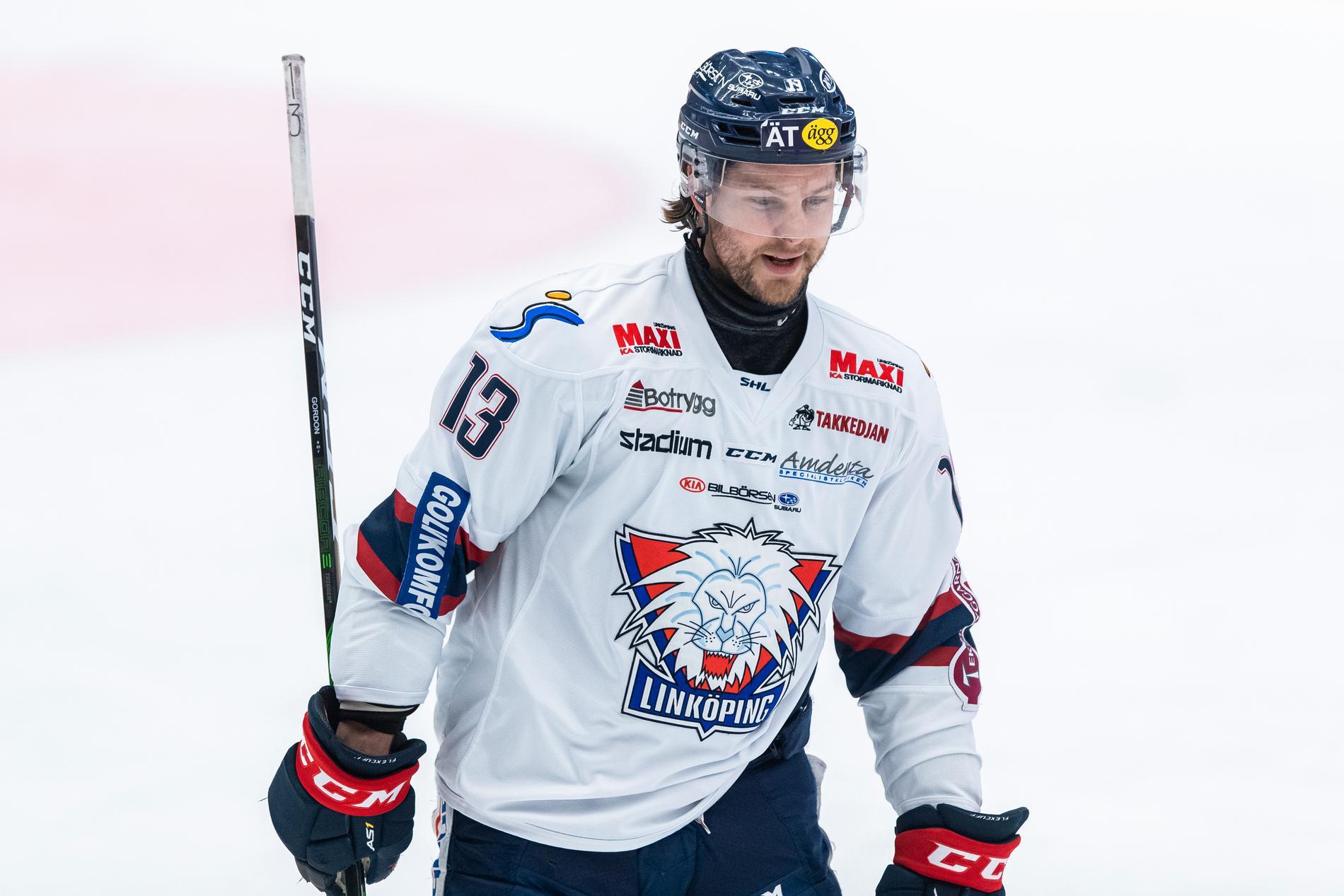 Linköpings Andrew Gordon.
