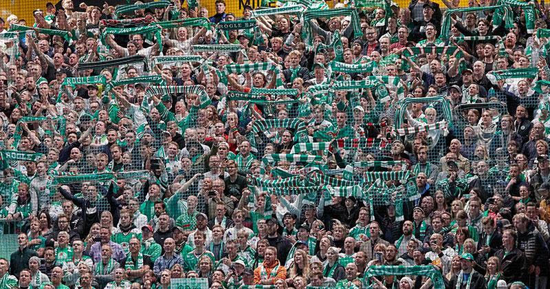 Rögle-fans.