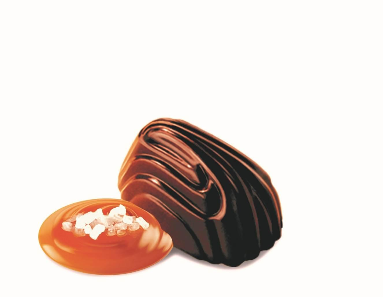 I år kommer pralinen mjuk toffee att bytas ut mot saltkaramell.
