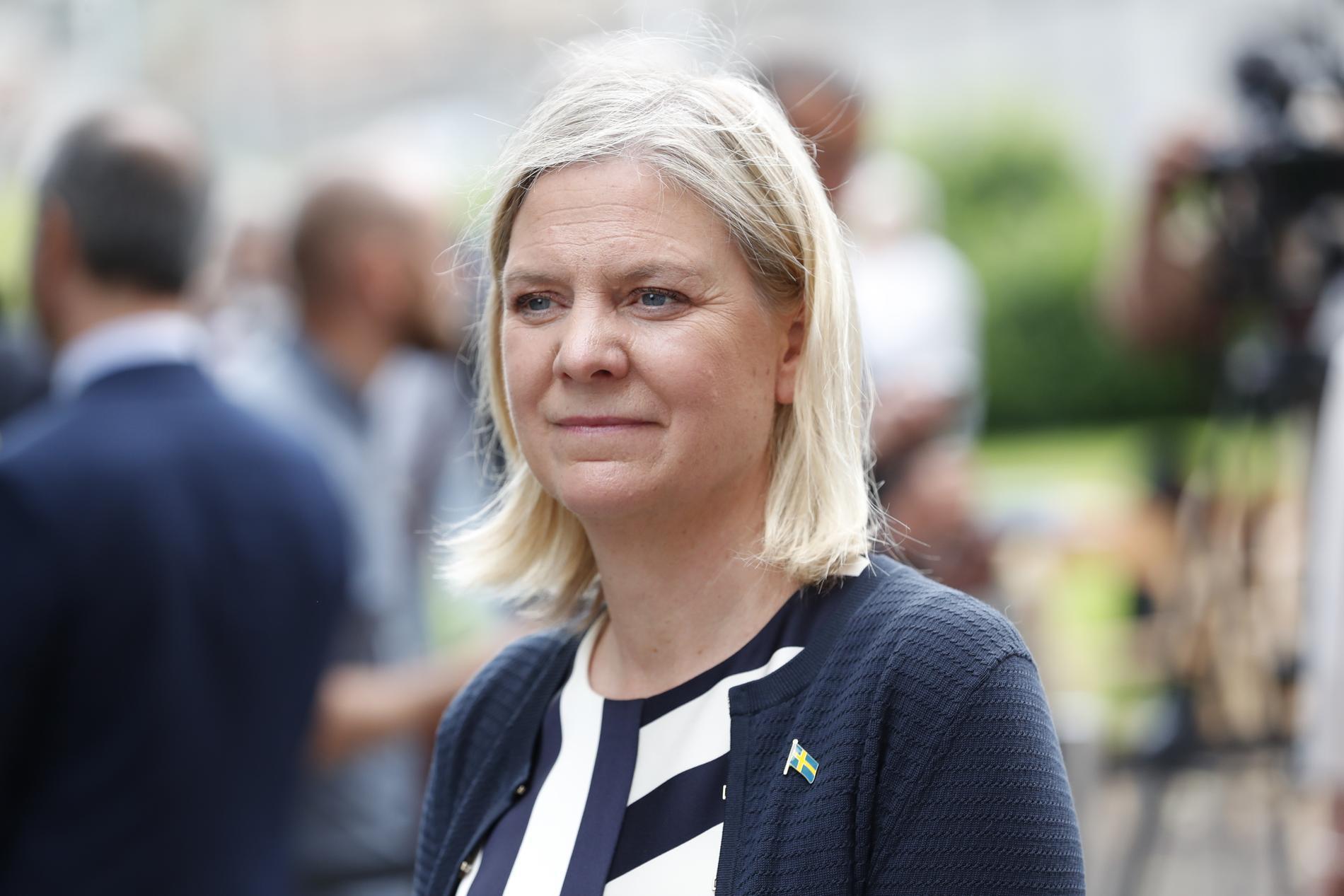 Finansminister Magdalena Andersson har lyfts fram som en av toppkandidaterna för ordförandeposten.