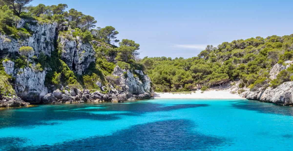 Cala Macarella, Menorca, Spanien