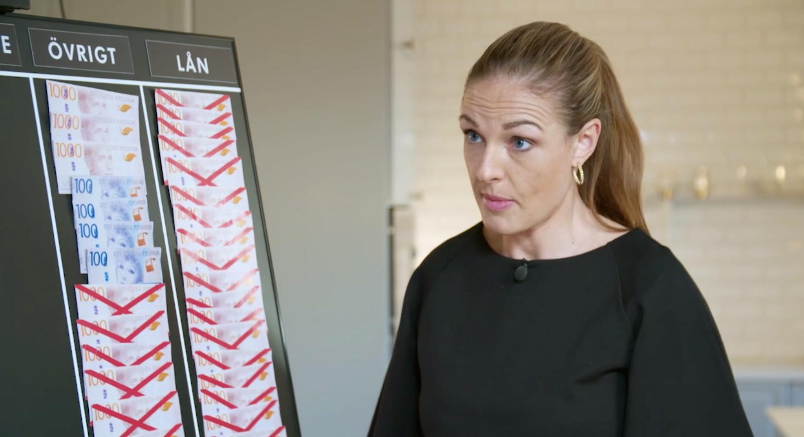 """""""Det är ett skrämmande exempel"""", säger Magdalena Kowalczyk om parets kreditvanor."""