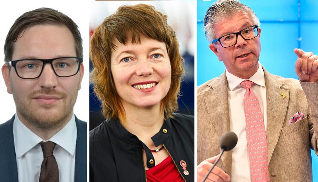 I tio år höll Moderaterna Orbáns parti Fidesz under armarna i sin partigrupp EPP, skriver Malin Björk och Håkan Svenneling, Vänsterpartiet.