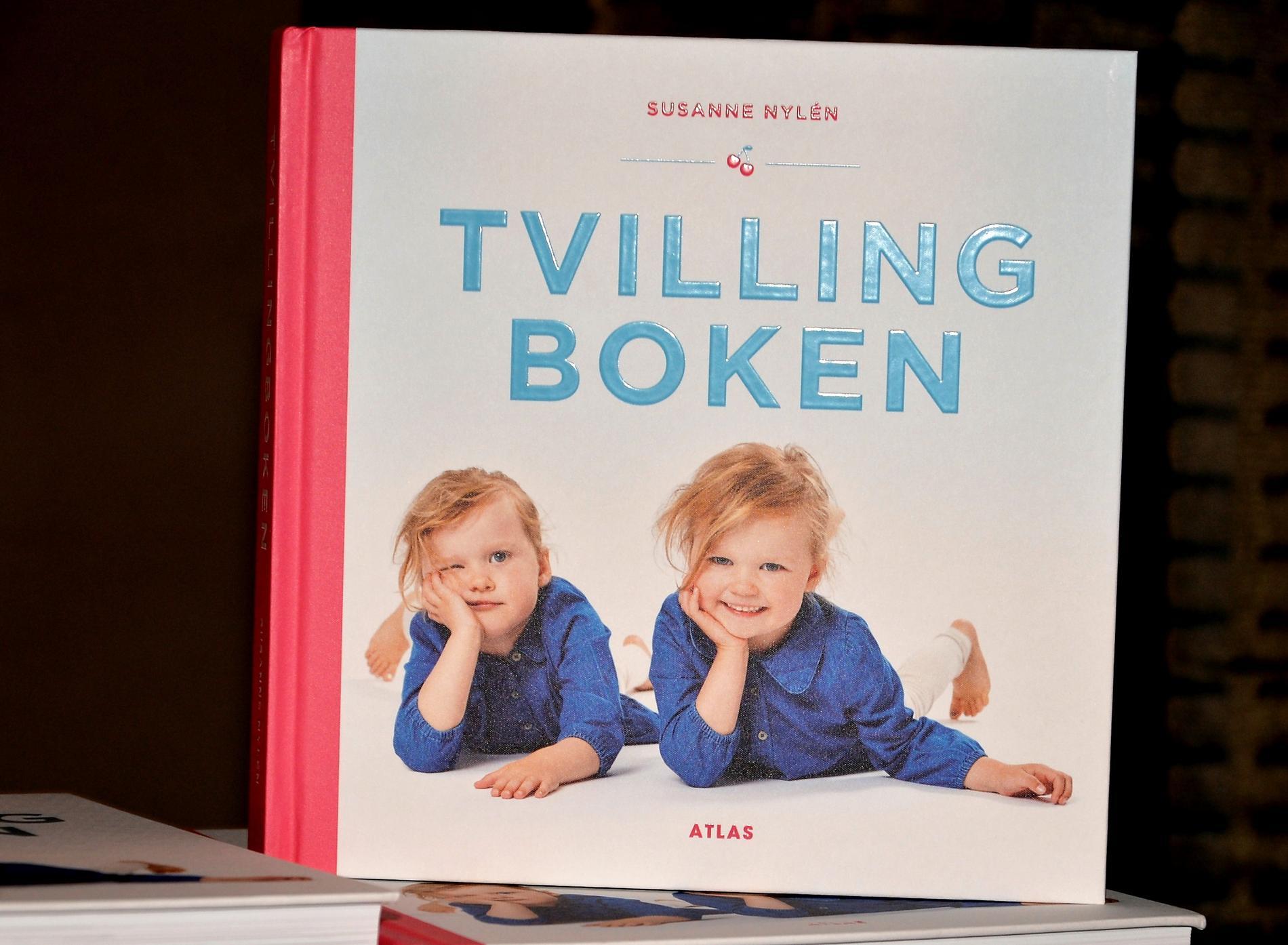 """Susanne har släppt """"Tvillingboken""""."""