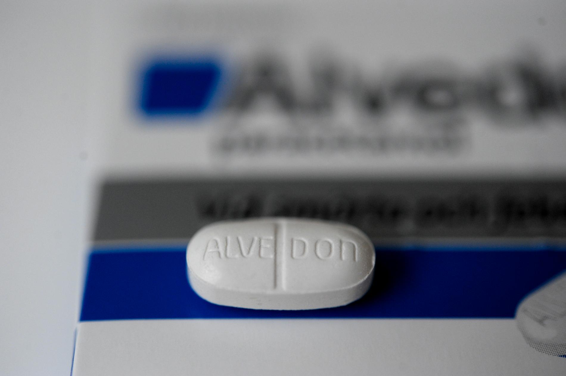 Paracetamol, som finns i Alvedon, kan ha en skadlig effekt på fostret under graviditeten. Arkivbild.