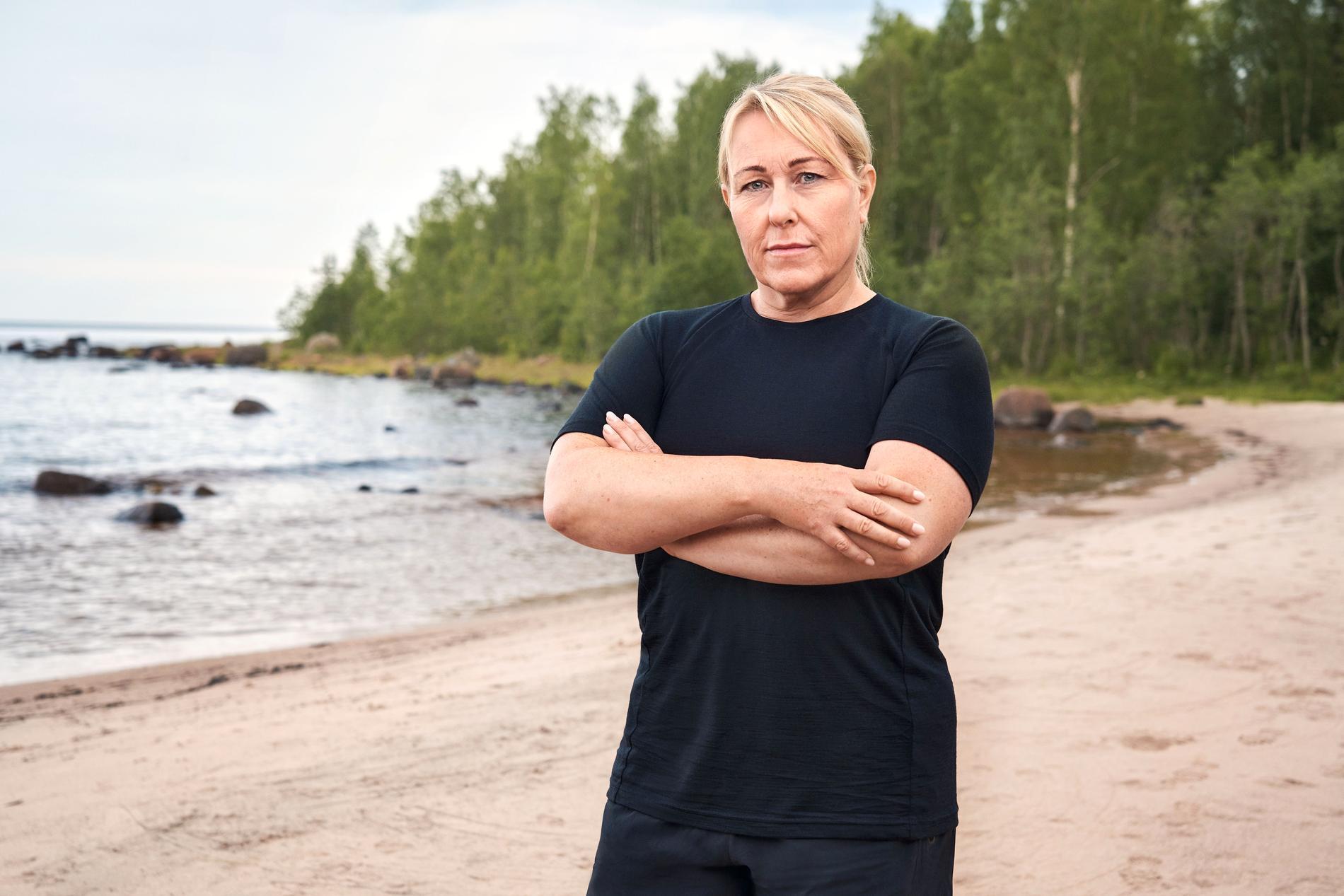 Annica Lundgren Frisk, 54.