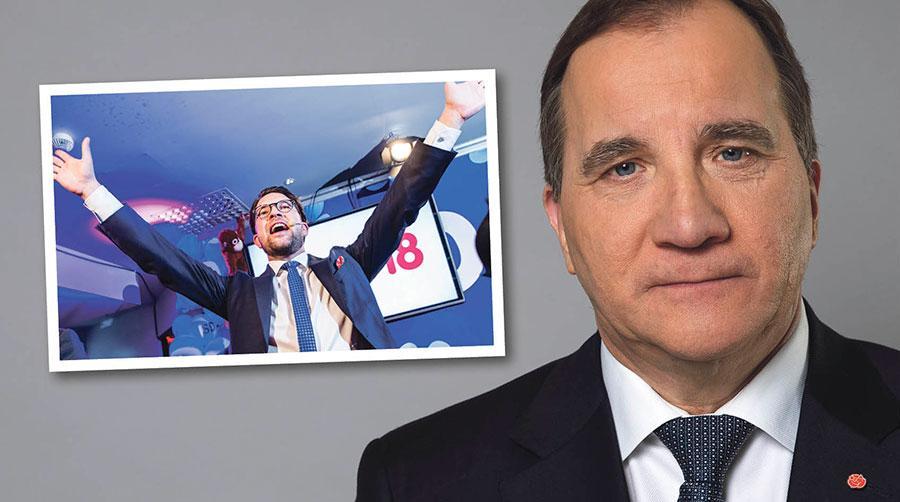 Sverigedemokraterna beskriver sig själva ofta som EU-kritiska. Men när det kommer till löntagares rättigheter använder de sin EU-kritik som en ursäkt för att göra ingenting, skriver Stefan Löfven.