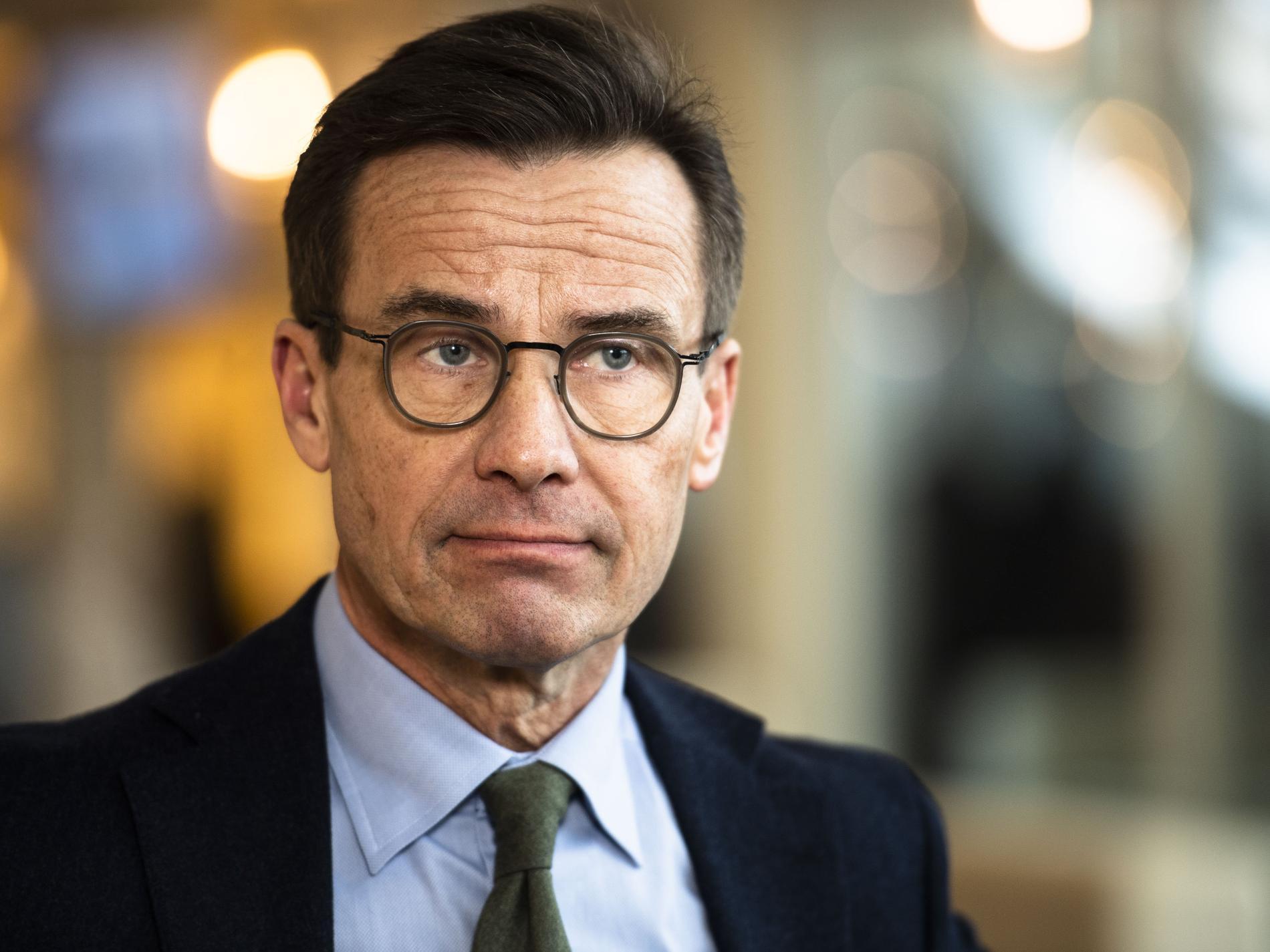 M-ledaren Ulf Kristersson.