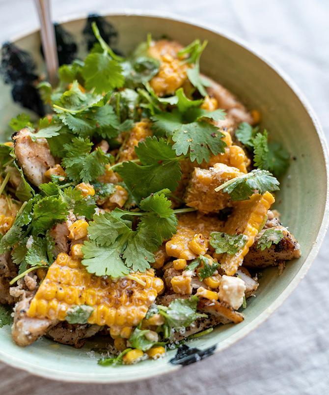 Mexikansk streetfood – majssallad!