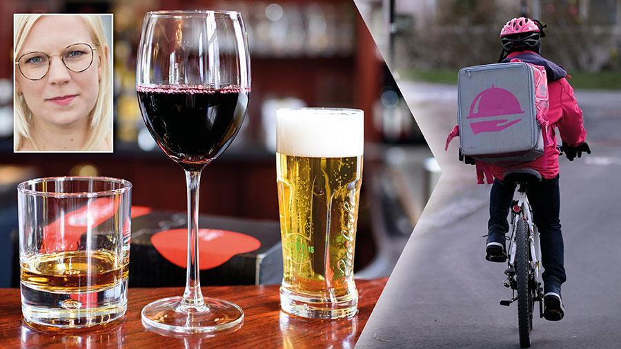 Regeringen måste snabbt införa en tillfällig lagändring som tillåter take away av alkohol från restauranger tillsammans med mat. Annars riskerar många företag i branschen att gå under och anställda att förlora sina jobb, skriver Karin Ernlund.