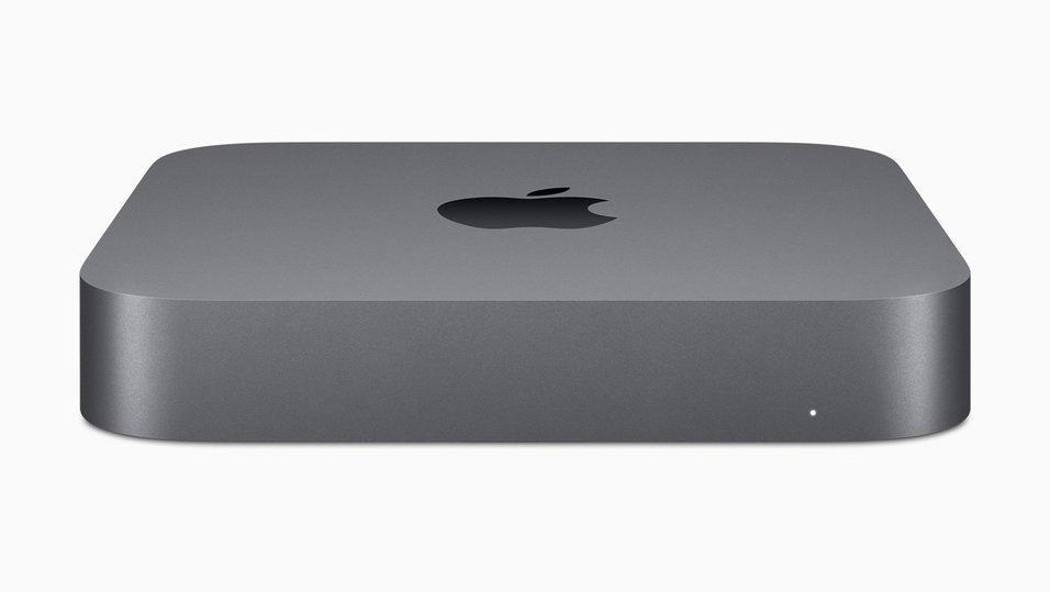 Apple lanserade en ny Mac Mini i New York den 30 oktober 2018.