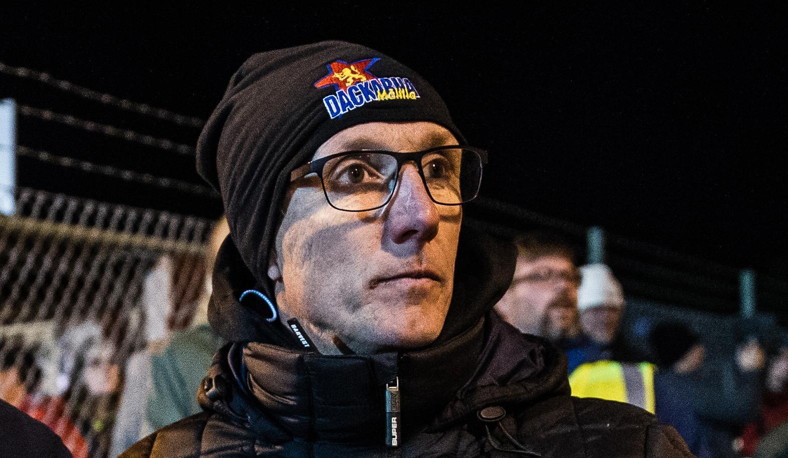 Peter Karlsson besviken efter guldmissen.