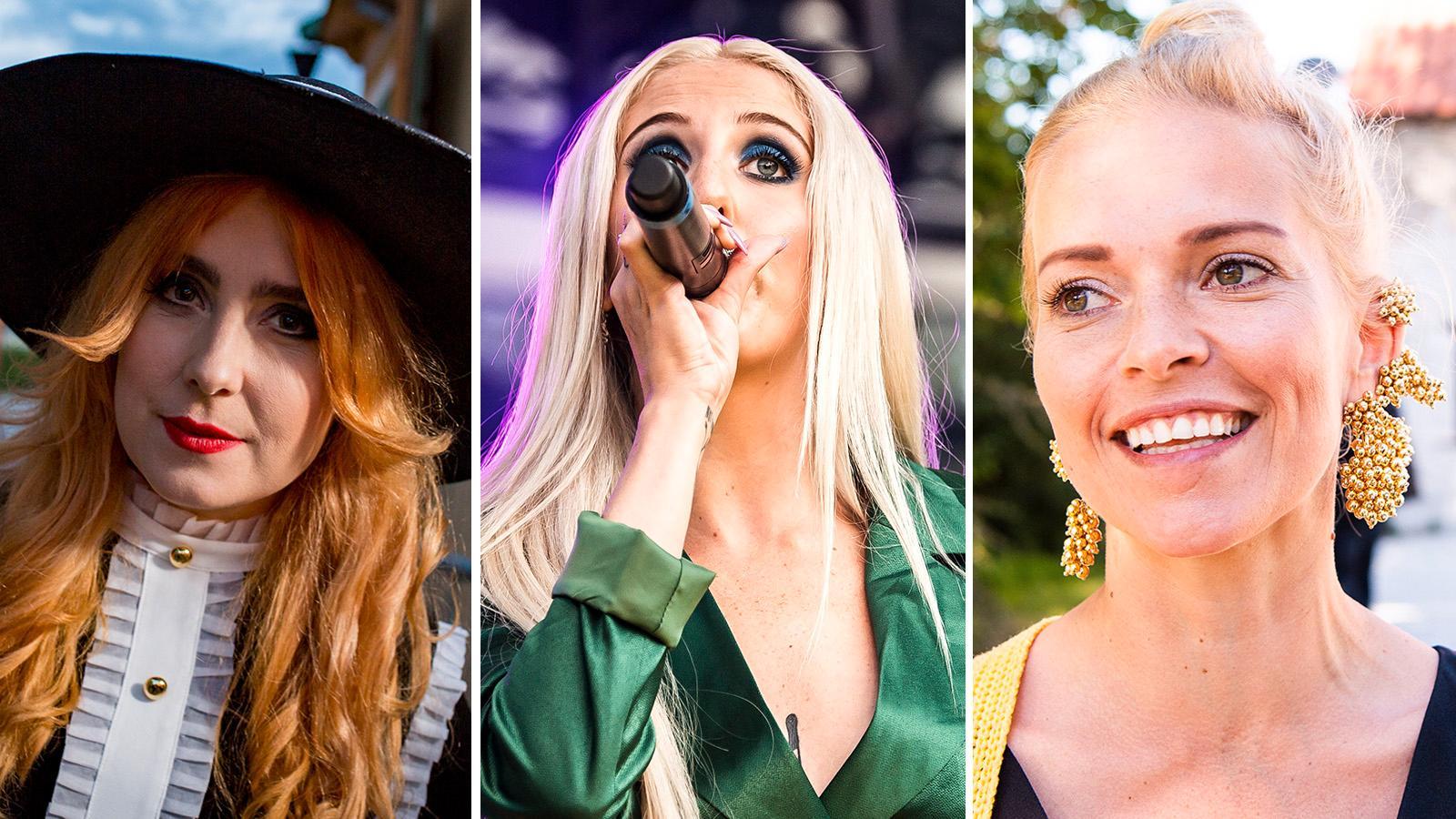 Miss Li, Peg Parnevik och Petra Marklund är tre av artisterna som uppträder på insamlingsgalan på lördag.