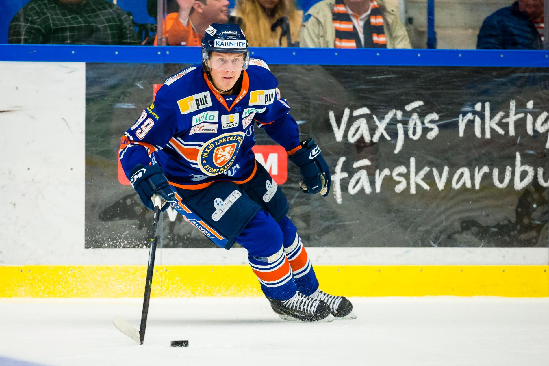 David Åslin lämnar Växjö.