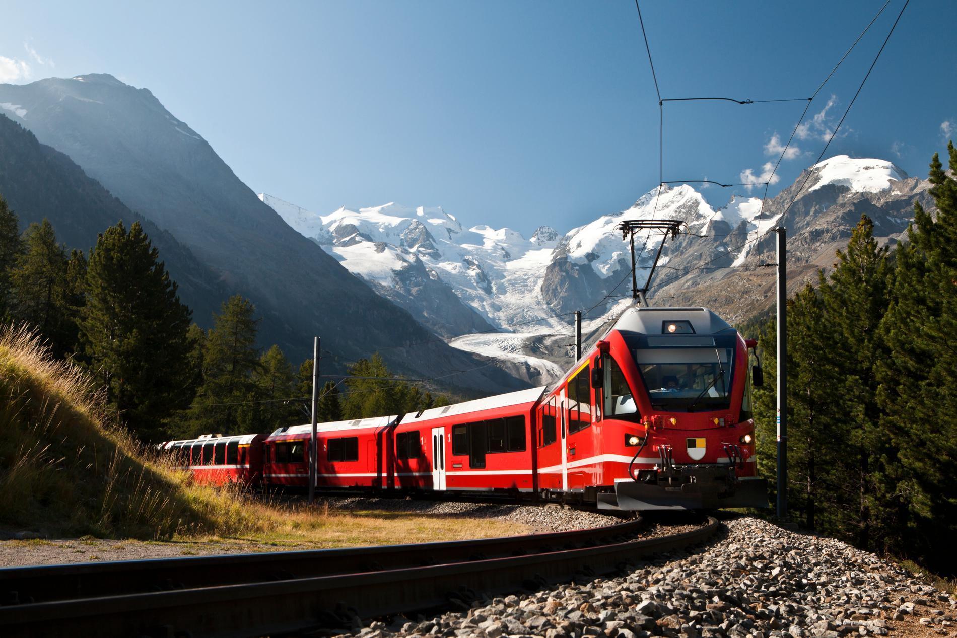 Efterfrågan på internationella tågresor ökar.