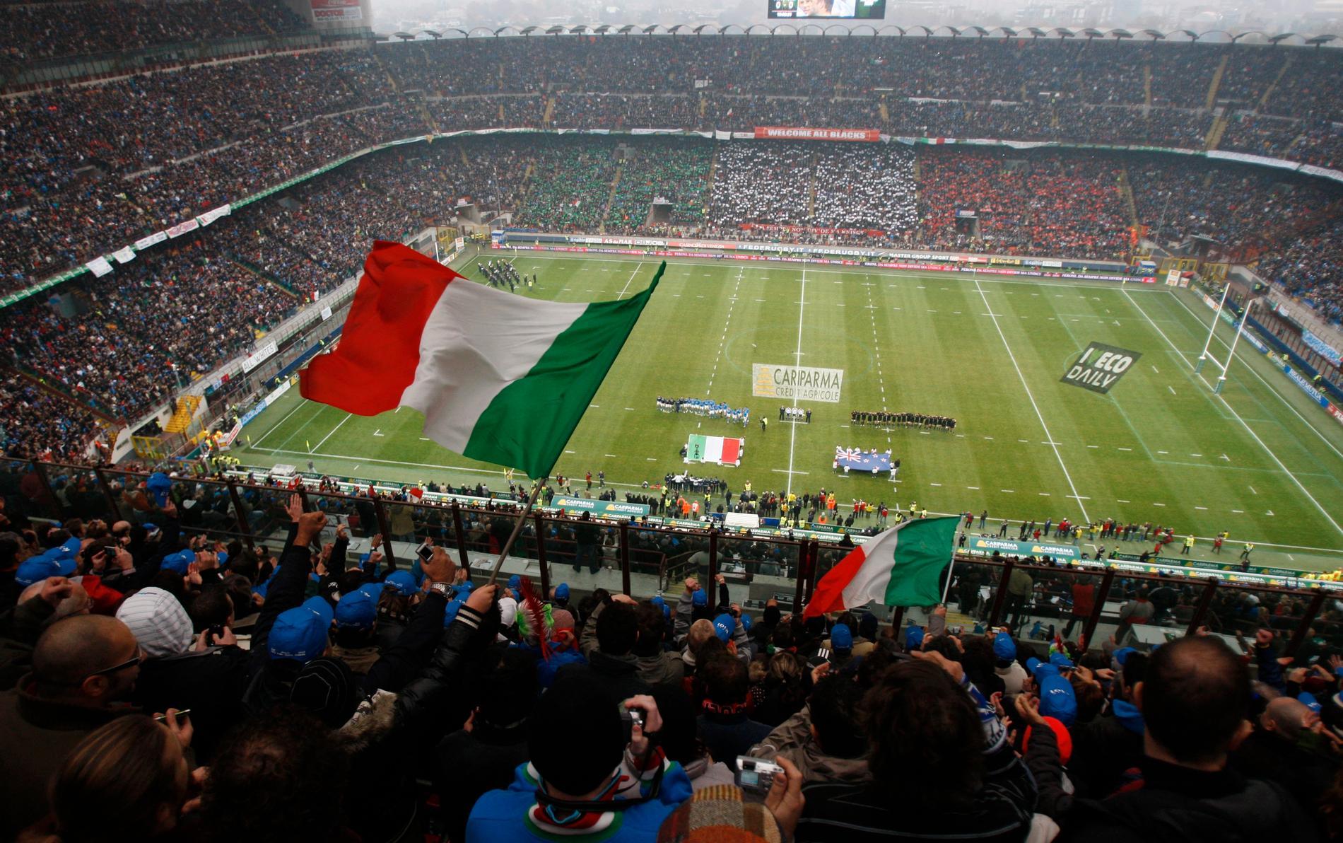 San Siro är Milans hemmaarena.