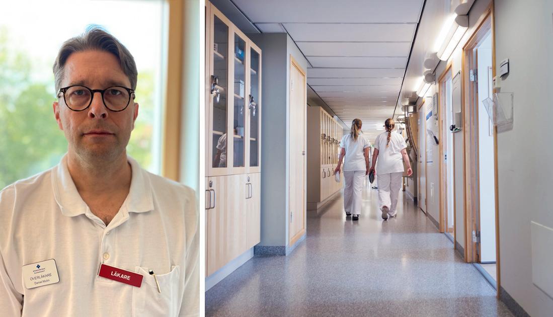 Forskning visar att många sjuksköterskor i Sverige upplever tydliga symtom på utmattning sina första tre år i yrket. Efter fem år i yrket har var femte allvarliga planer på att lämna yrket, och en del har redan gjort det, skriver Daniel Molin, docent och överläkare.