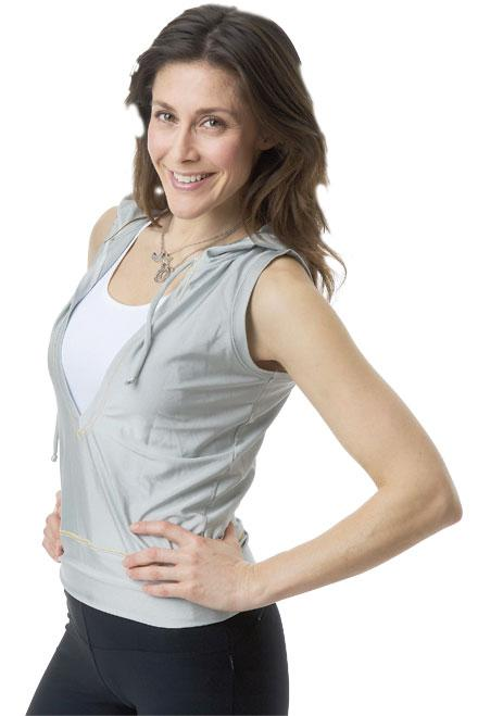 Shirin Rågby Djavidi hjälper dig komma i form.