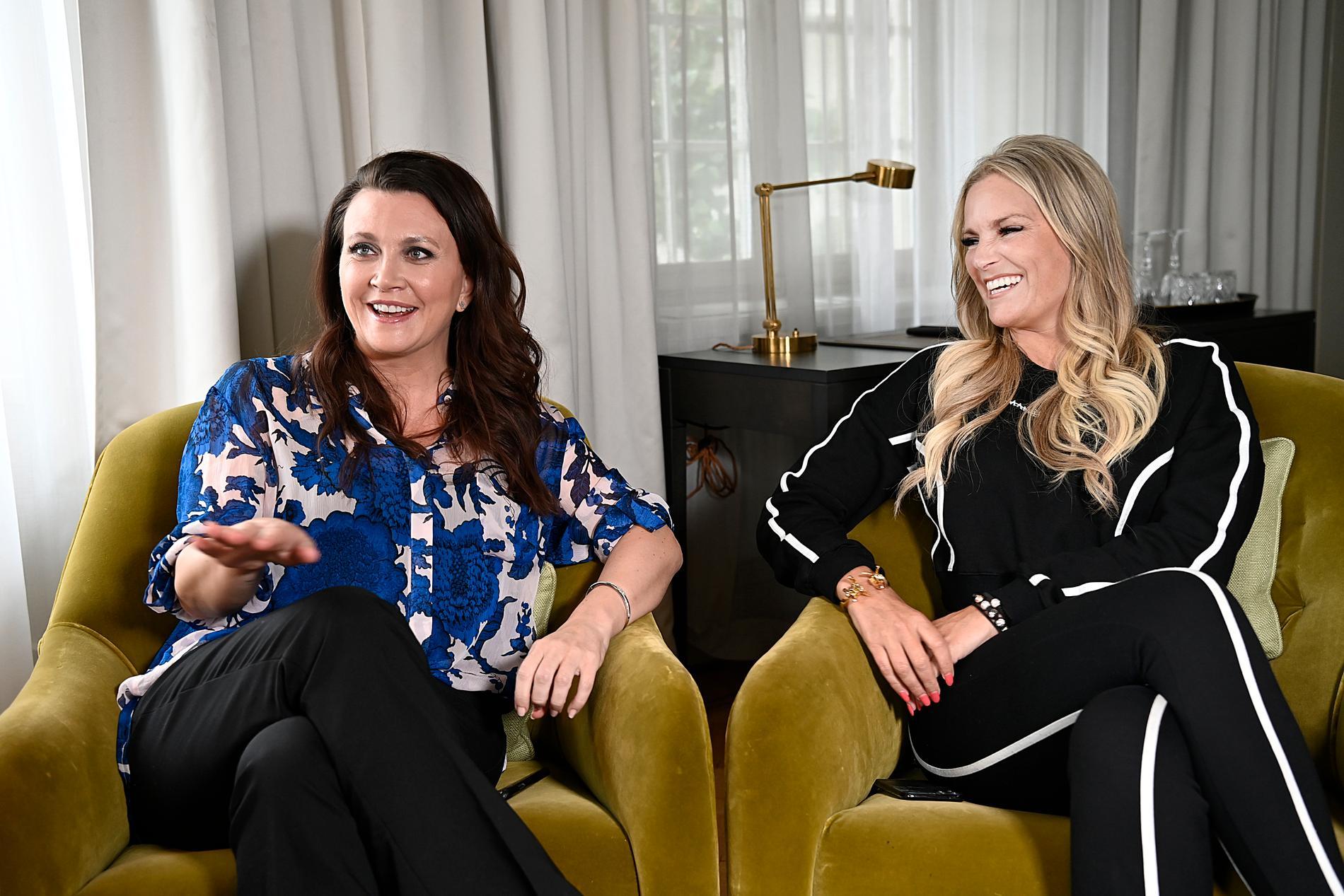 """Camilla Läckberg och Laila Bagge är båda med i nya realityserien """"Svenska powerkvinnor"""""""