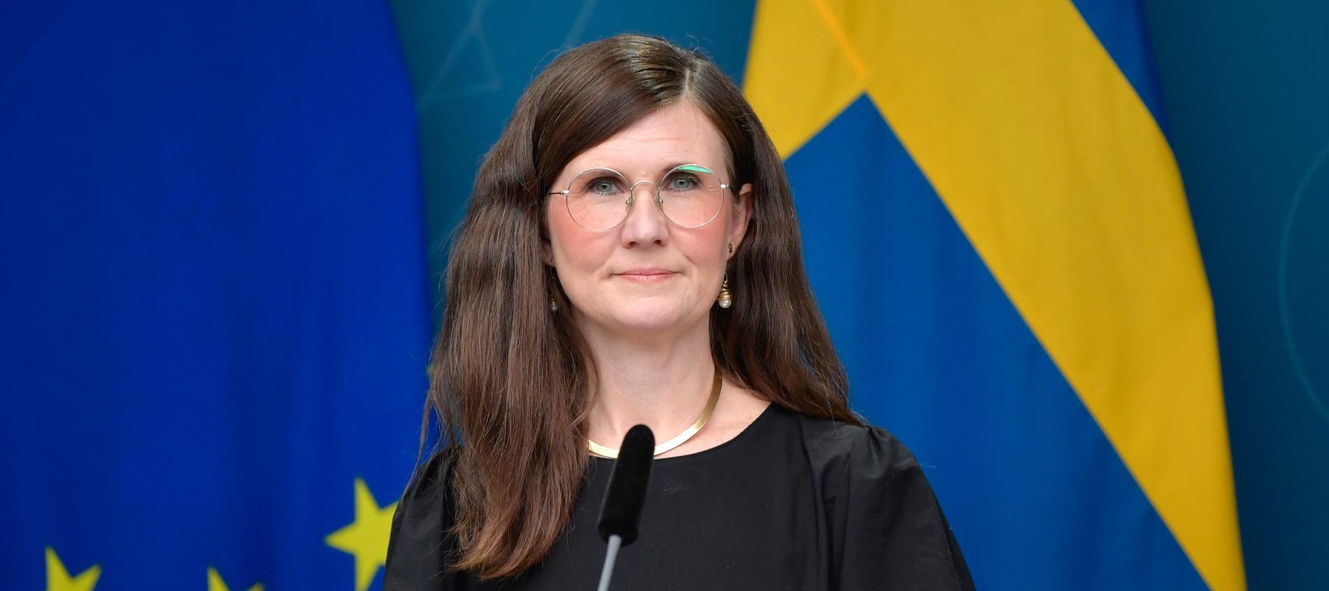 Miljöpartiets språkrör Märta Stenevi blir jämställdhets- och bostadsminister.