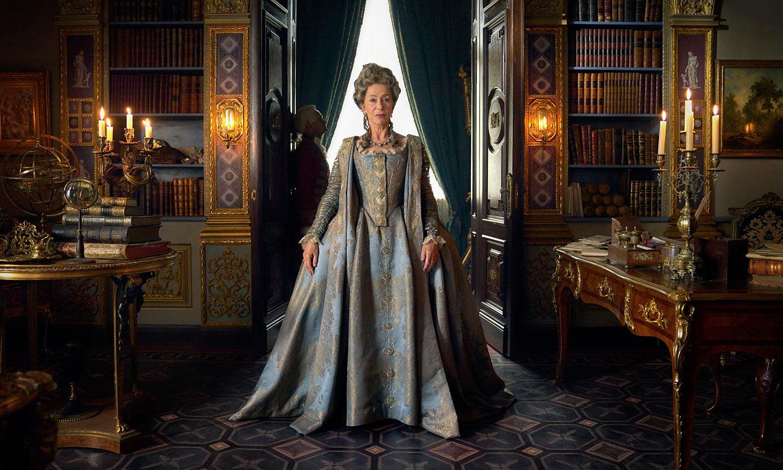 "Helen Mirren i ""Catherine the great""."