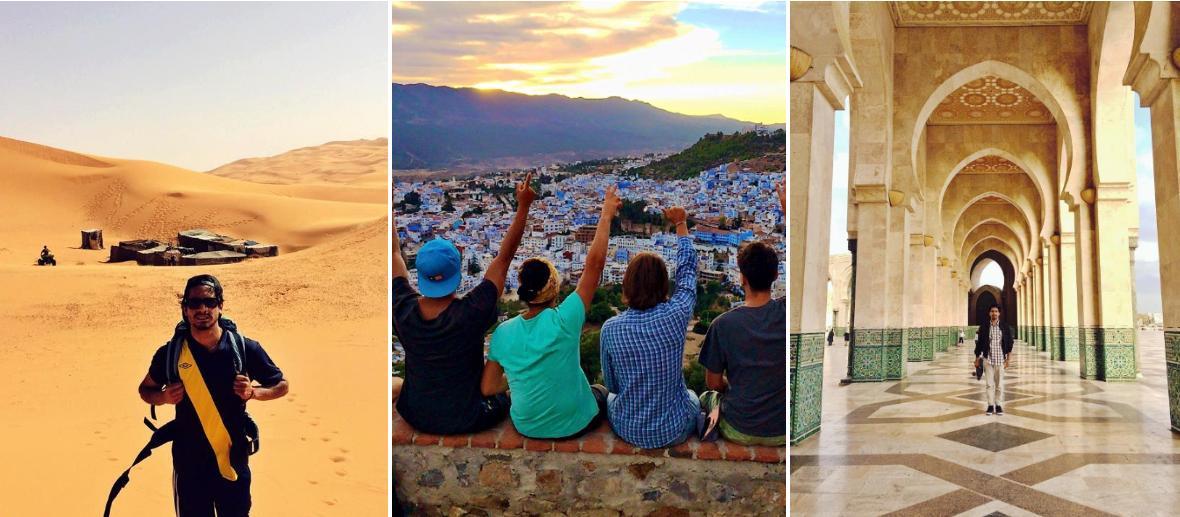 Erico Vitella älskar maten, människorna och arkitekturen i Marocko.