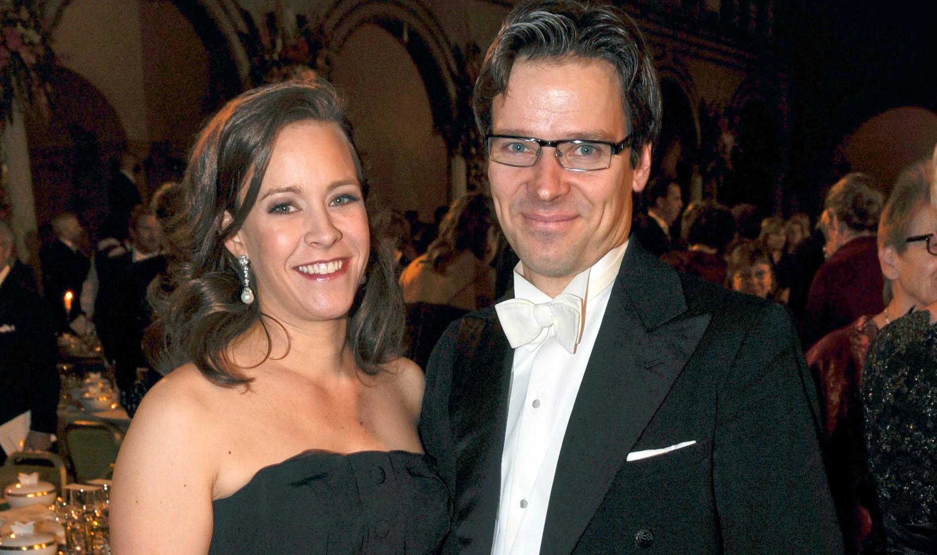 Maria Wetterstrand och Ville Niinistö gifte sig 2004.