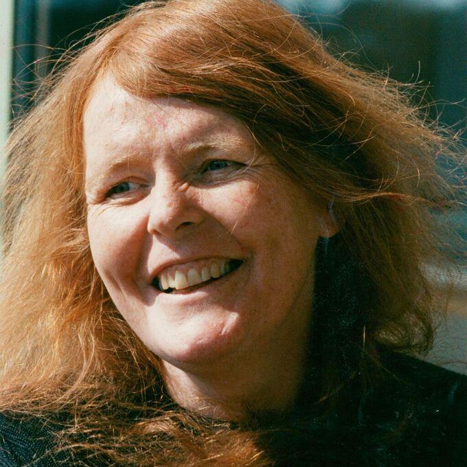 Författaren och akademiledamoten Kristina Lugn.