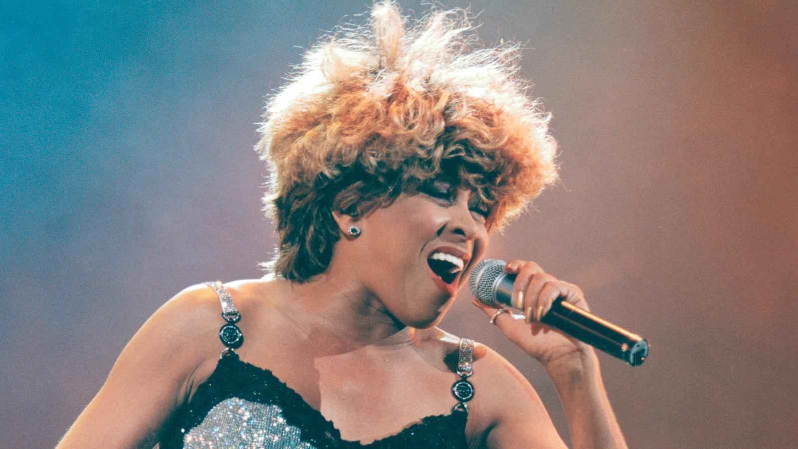 Tina Turner i Paris 1996.