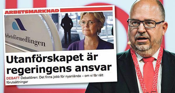 Karl-Petter Thorwaldsson svarar Carola Lemne på Svenskt Näringsliv.