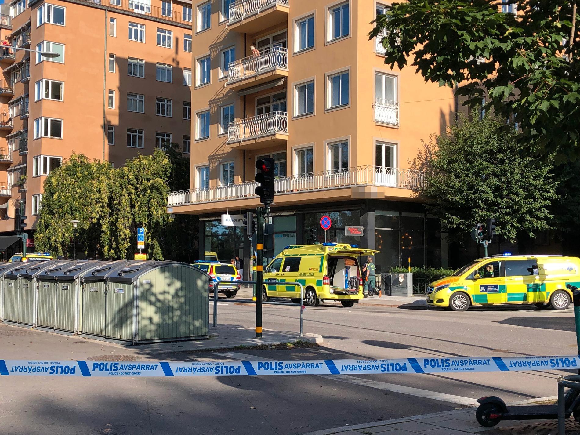 Försöket att döda advokaten genomfördes den 6 september 2019 vid dennes bostad på Kungsholmen i Stockholm. Arkivbild.
