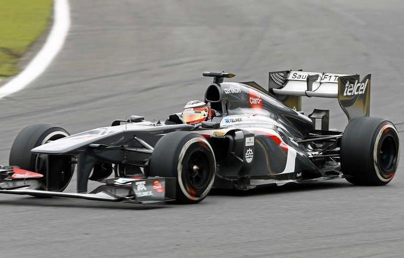 Nico Hülkenberg här i sin Sauber.