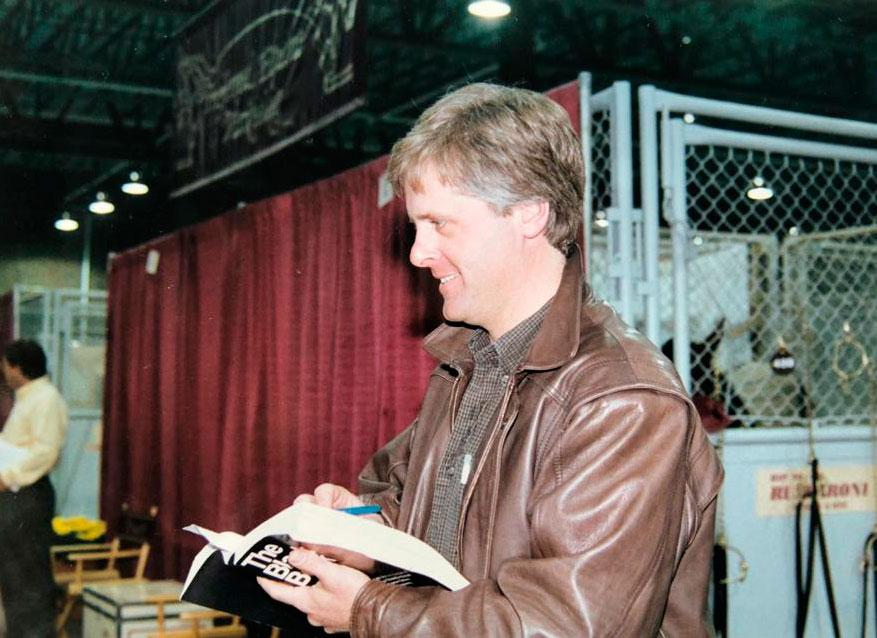 Jerry på auktion i Harrisburg tidigt 90-tal.