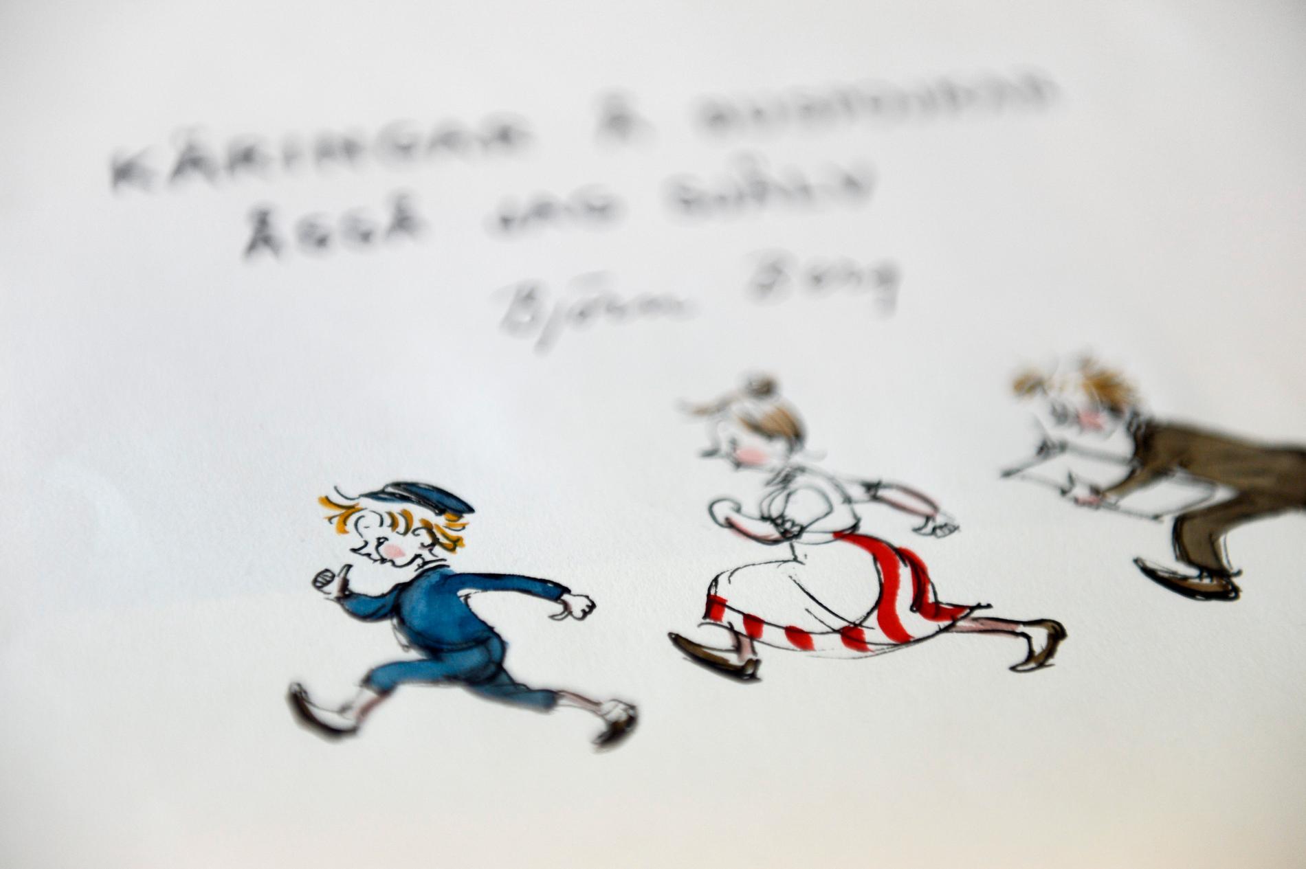 """Maud Hansson Fissoun blev folkkär tack vare rollen som pigan Lina i """"Emil i Lönneberga"""". Arkivbild."""