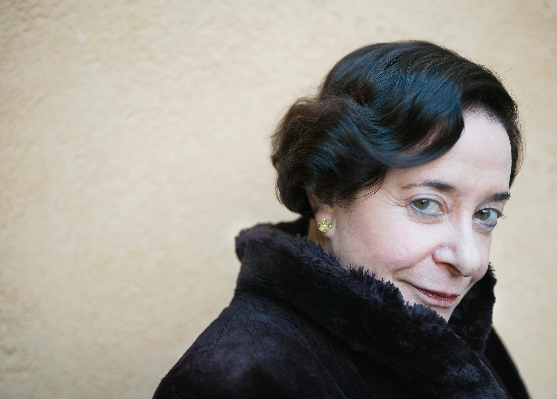 Mexikanska Gloria Gervitz (född 1943) började skriva sitt livs verk 1976. Foto: TT