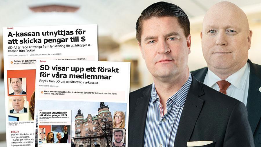 Det är dags att svenska löntagare på riktigt får ta del av en effektiv och likvärdig a-kassa. Regeringen och facken har gång efter annan visat att de är oförmögna att administrera det som rätteligen tillhör de som gjort sin plikt, skriver Oscar Sjöstedt och Magnus Persson.