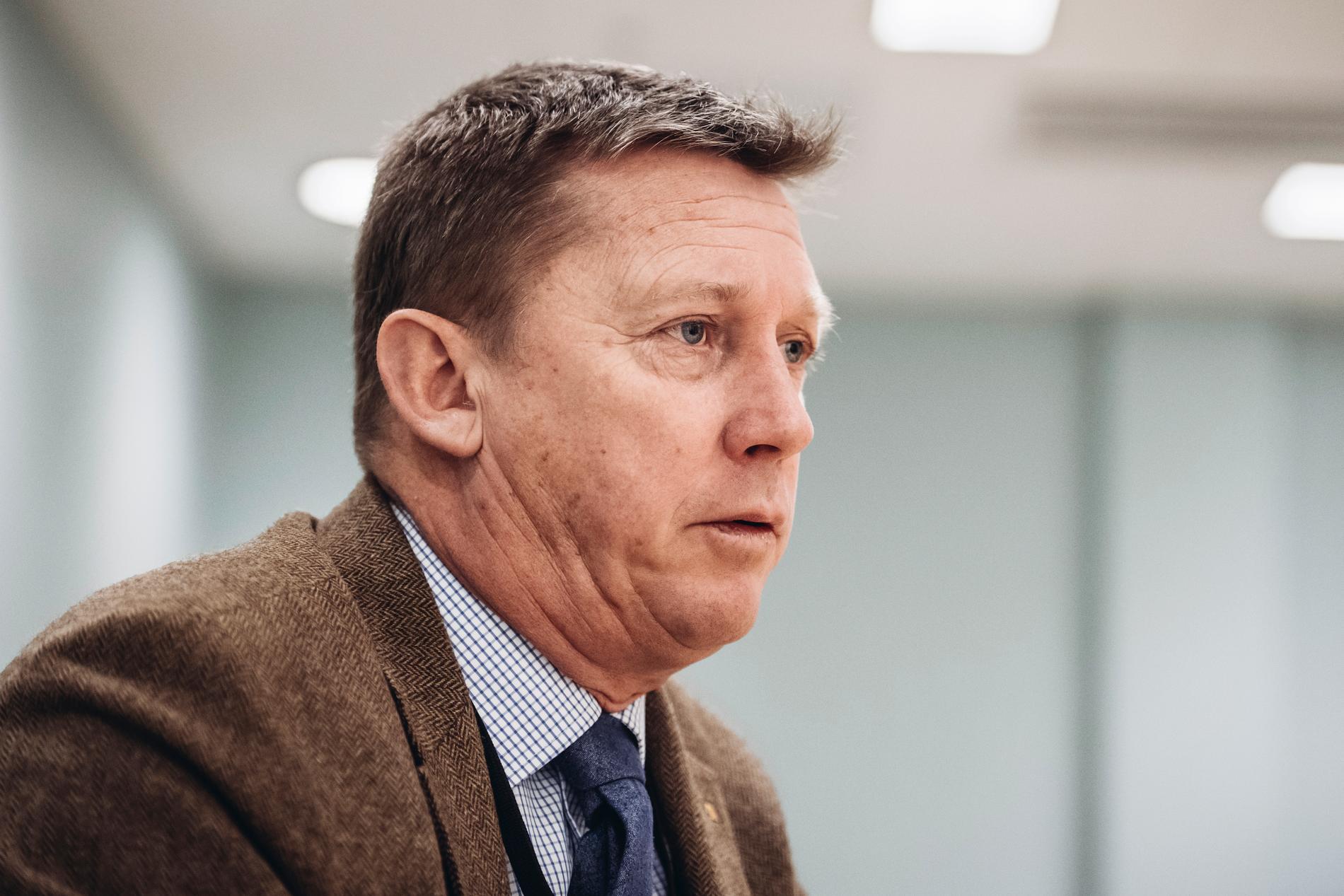 Klas Friberg, chef för Säpo. Arkivbild.