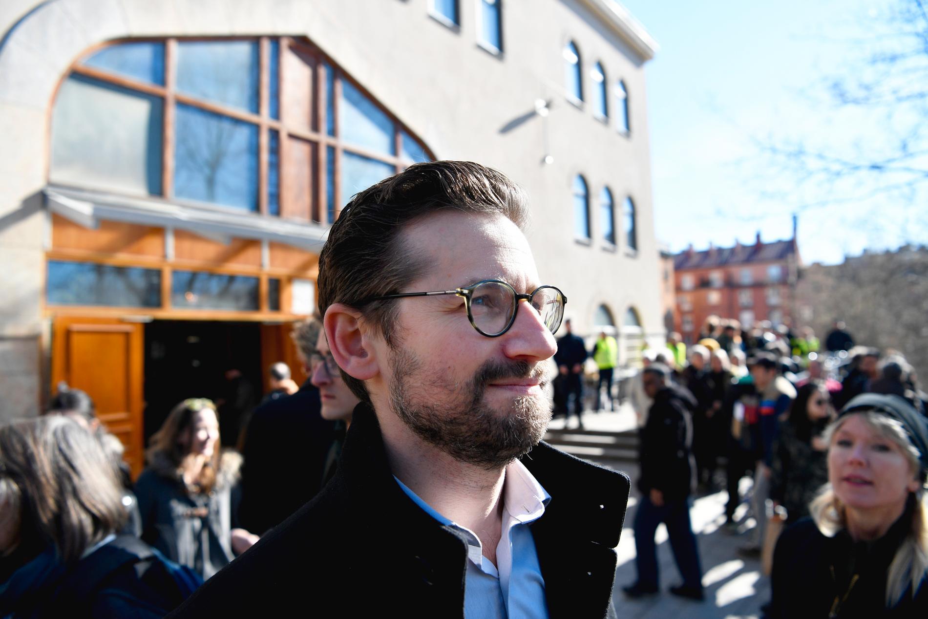 Mattias Schain, initiativtagare till manifestationen, sade att han enbart mötts av positiva reaktioner.