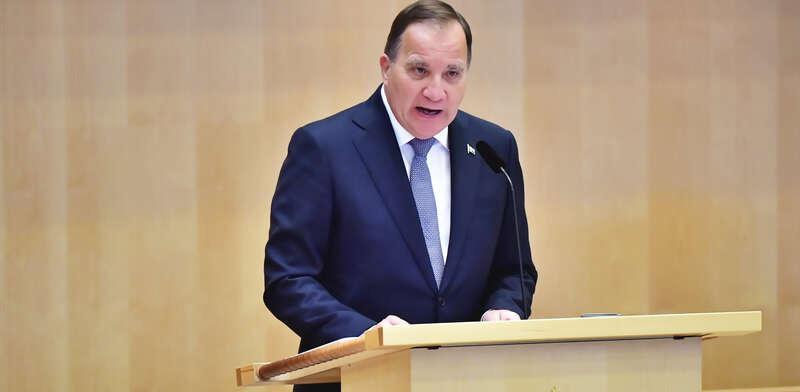 Stefan Löfven läste upp sin regeringsförklaring gör 2020–2021 under riksdagens öppnande.