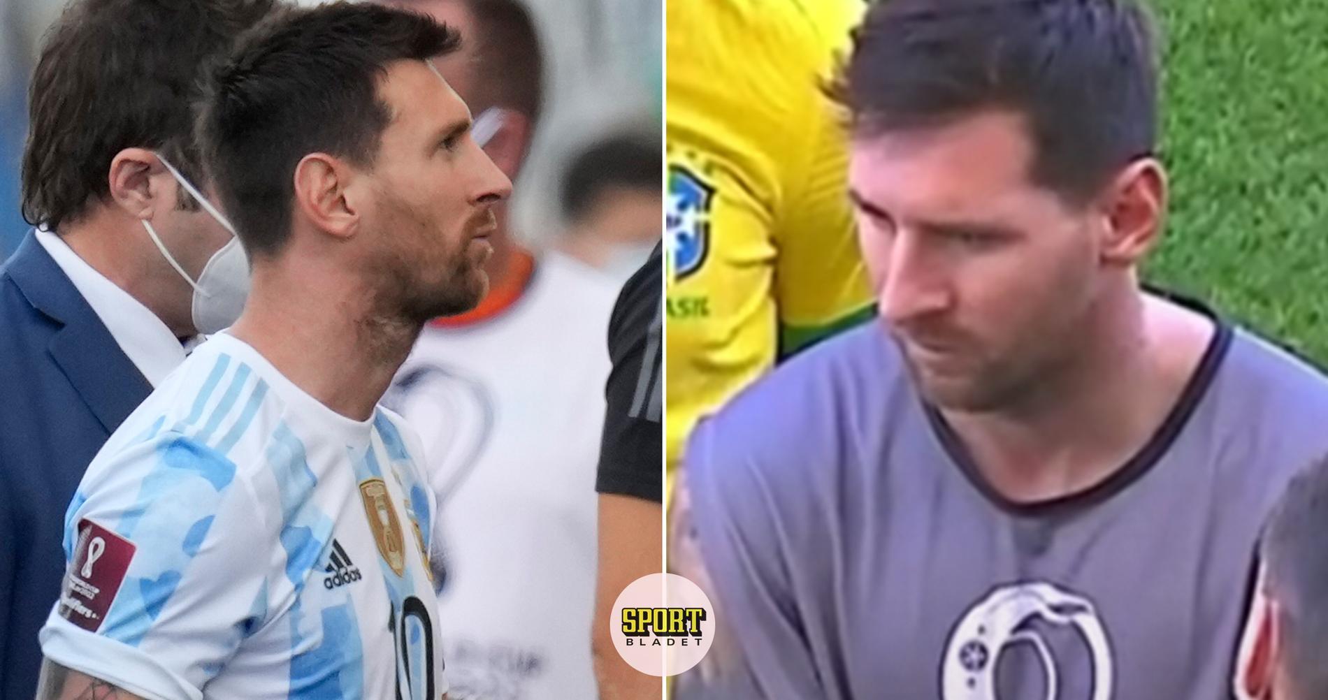 """Messi: """"Varför gör ni det här nu?"""""""