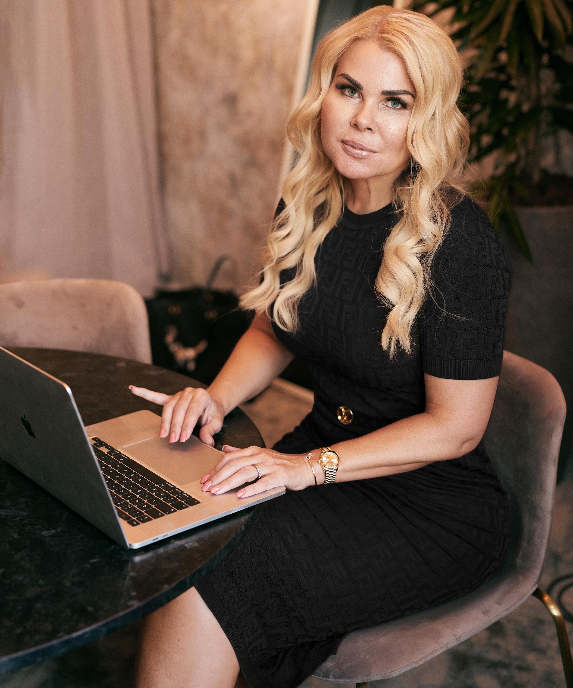 Pernilla Nyrensten hoppas att börsnoteringen ska leda till att fler kvinnliga grundare vågar ta samma steg som hon.