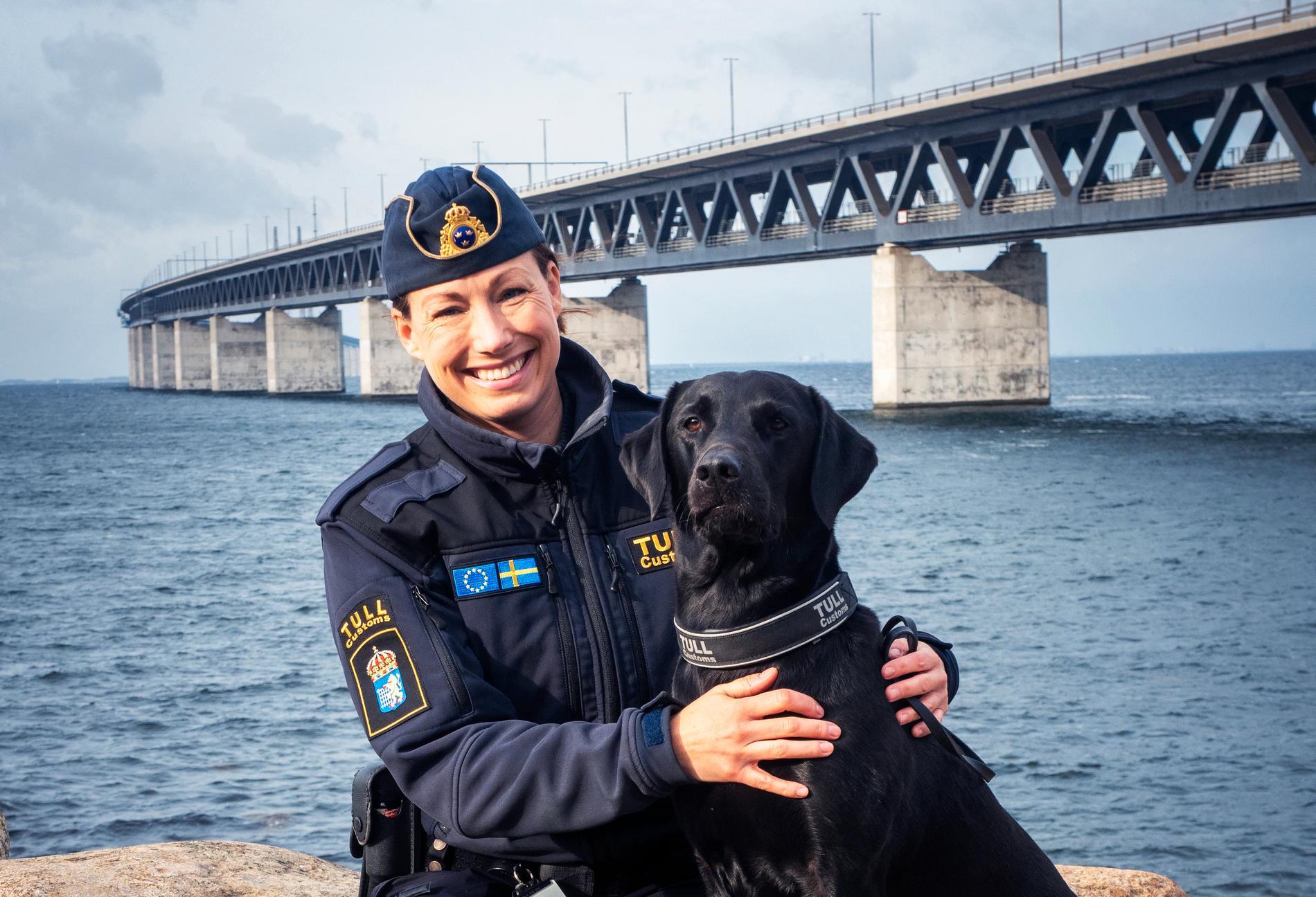 Hunden Atte, som tjänstgör vid Brottbekämpningsgrupp Malmö med sin förare Josefin Frid, har utnämnts till Årets narkotikasökhund 2019.