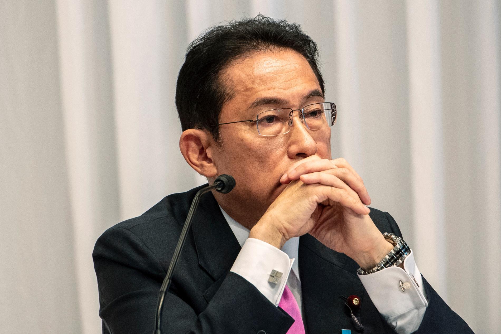 Fumio Kishida har röstats fram som ny partiledare för Japans styrande parti LDP.