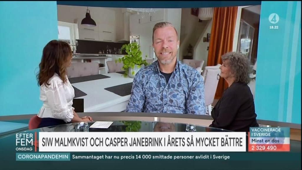 "Casper Janebrink presenterades i ""Efter fem""."