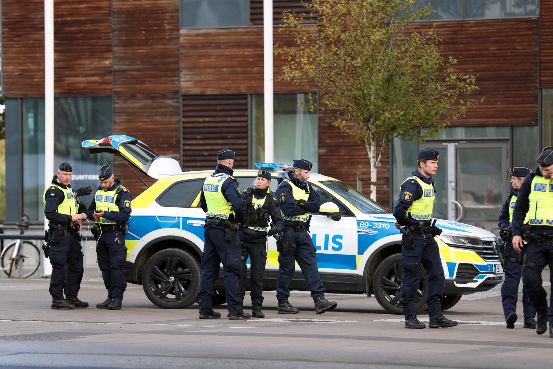 Säkerheten är hög inför förintelsekonferensen i Malmö.