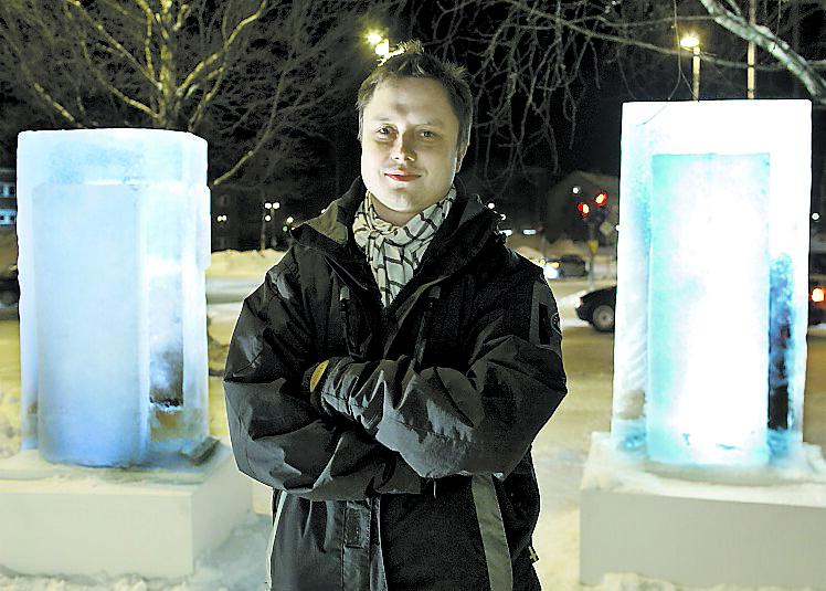 Markus Larsson i Skellefteå.